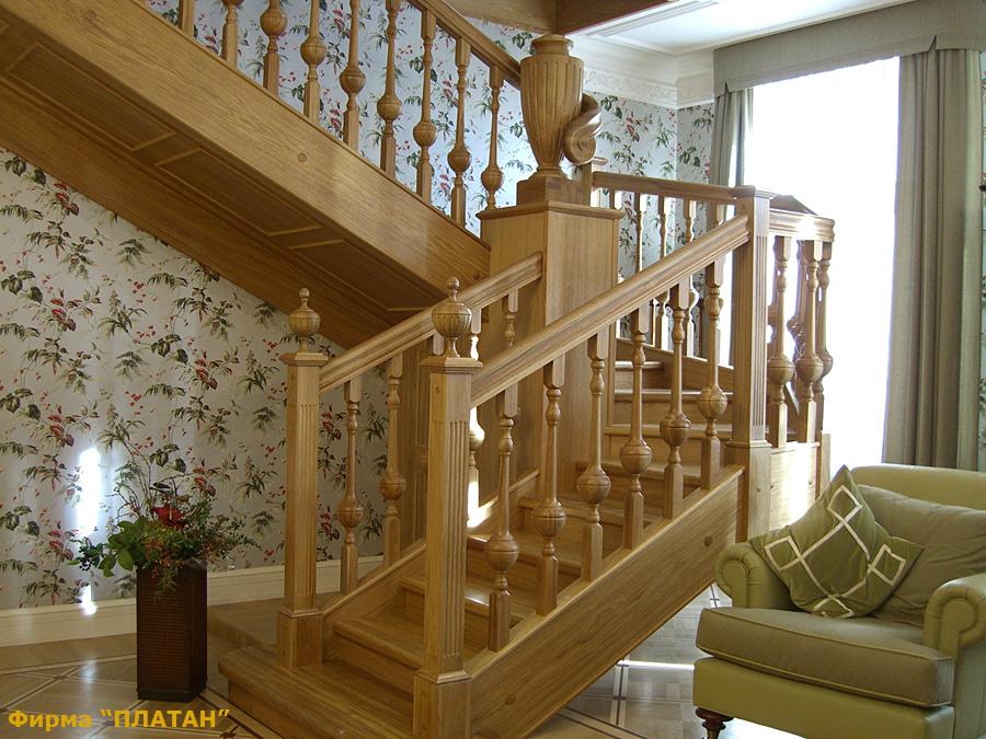 Купить балясины из дерева для лестницы в Москве: цена